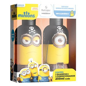 KIT MINIONS PIRATA 250 ML