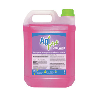 Agipro Deep Wash Desinfetante Floral 5 Litros