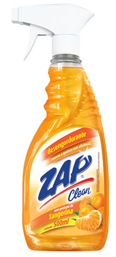 Desengordurante Zap Clean Tangerina Gatilho 500 Ml