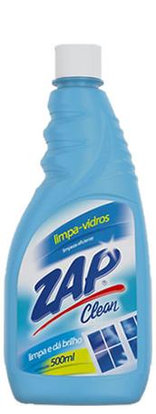 Limpa Vidros Zap Clean Refil 500 Ml