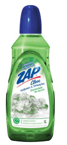 Limpador Perfumado Zap Clean Graciosidade do Jasmim 1 L
