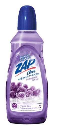 Limpador Perfumado Zap Clean Sensualidade da Rosa 1 L