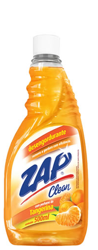 Desengordurante Zap Clean Tangerina Refil 500 Ml